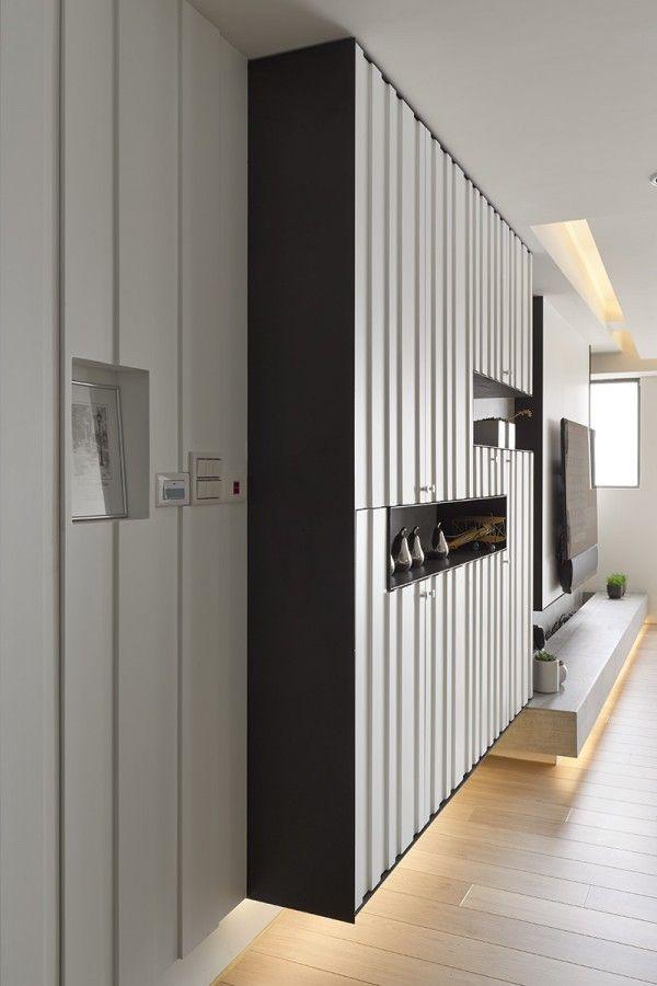 Modern Minimalist Interior Design: 2 Beautifully Modern Minimalist Asian Designs