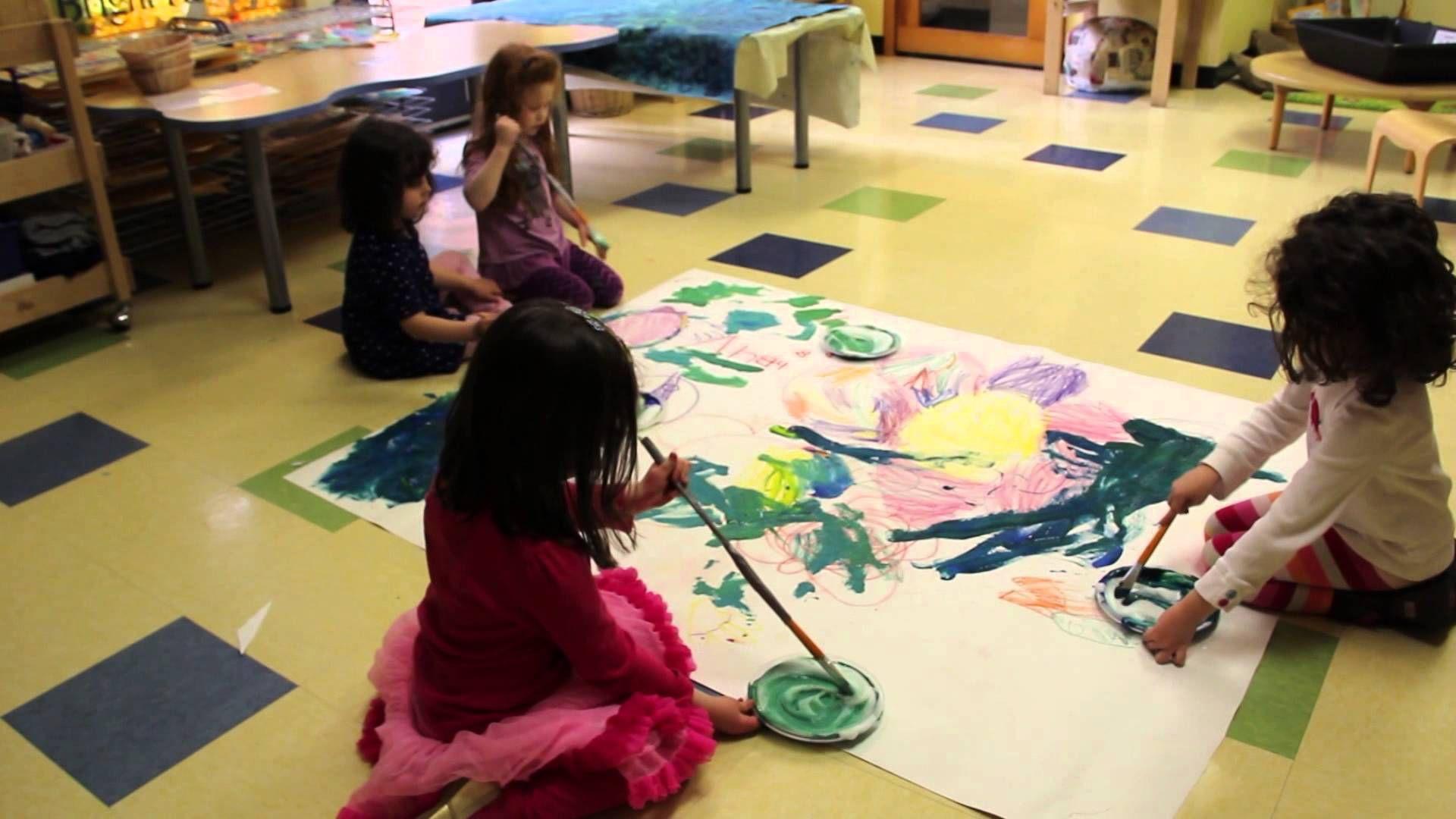 Kindergarten Prep Collaborative Art Activity