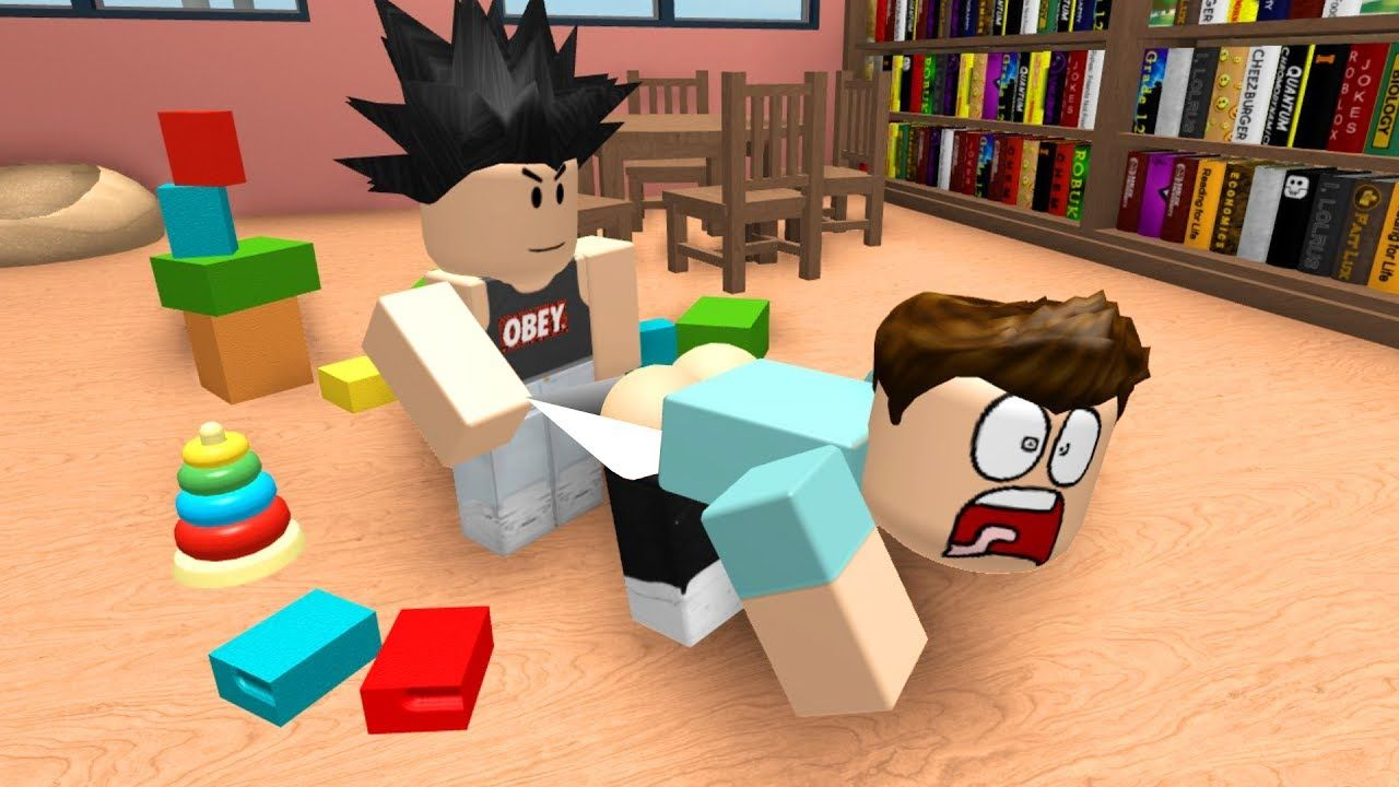 Roblox Kindergarten The School Bully Youtube School