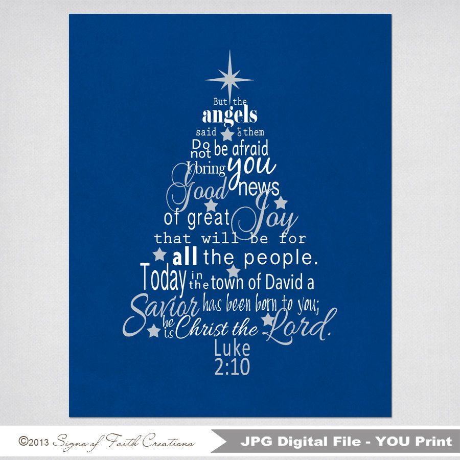 Small Of Christmas Bible Verse