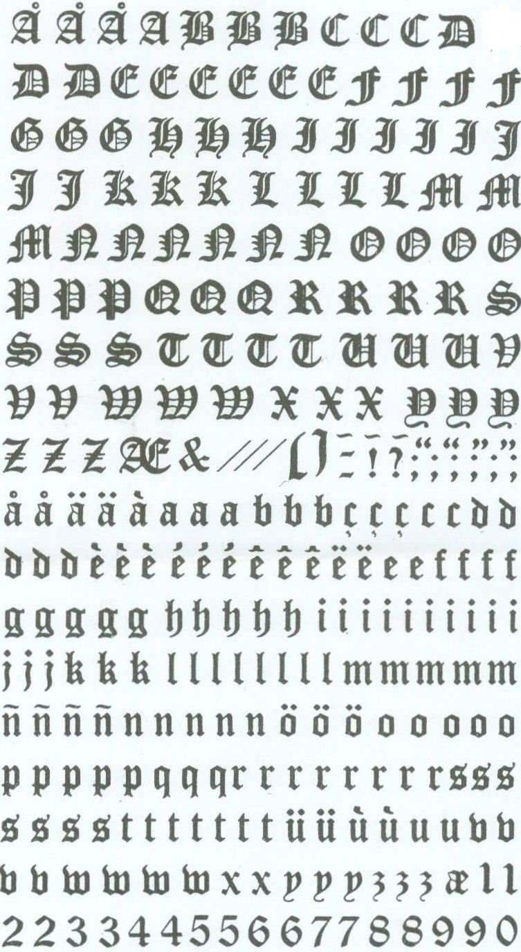 Alphabet gothique imprimer alphabets lettres gothiques pinterest alphabet gothique imprimer thecheapjerseys Image collections