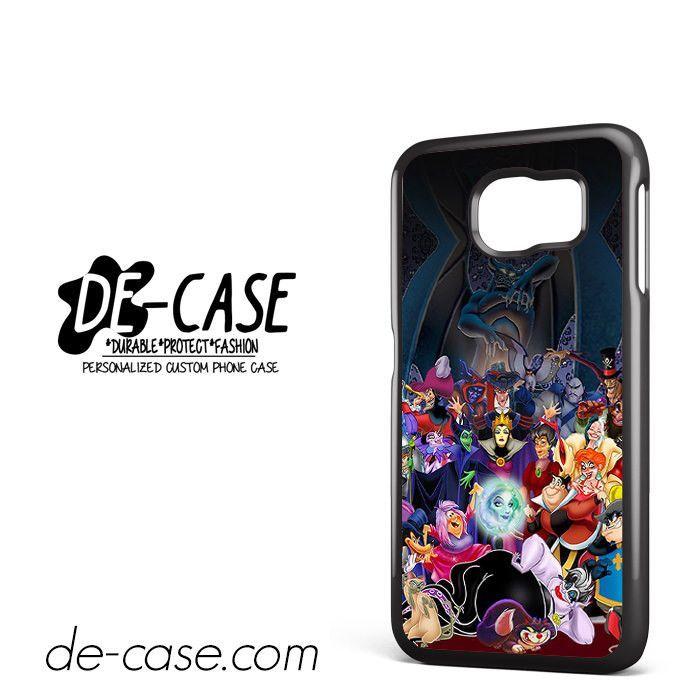 All Villains Disney DEAL-636 Samsung Phonecase Cover For Samsung Galaxy S6 / S6 Edge / S6 Edge Plus