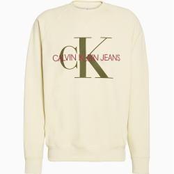 Photo of Calvin Klein Sweatshirt mit Monogramm-Logo Xxl Calvin KleinCalvin Klein