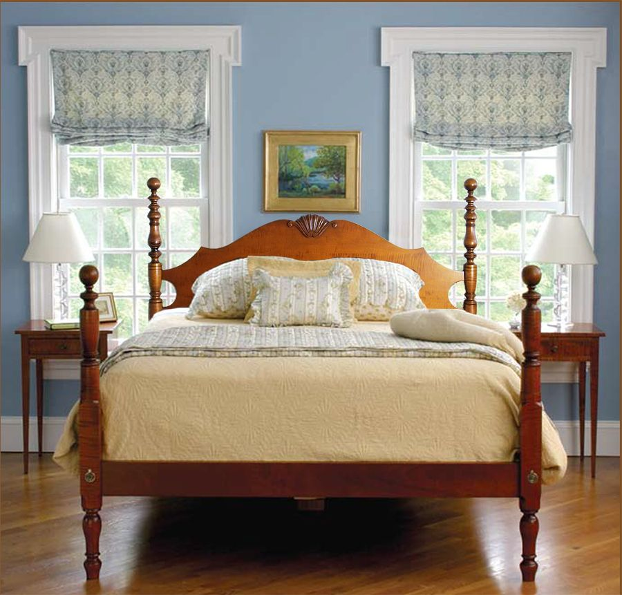 Best Cannonball Bed With Connecticut River Valley Headboard And 400 x 300