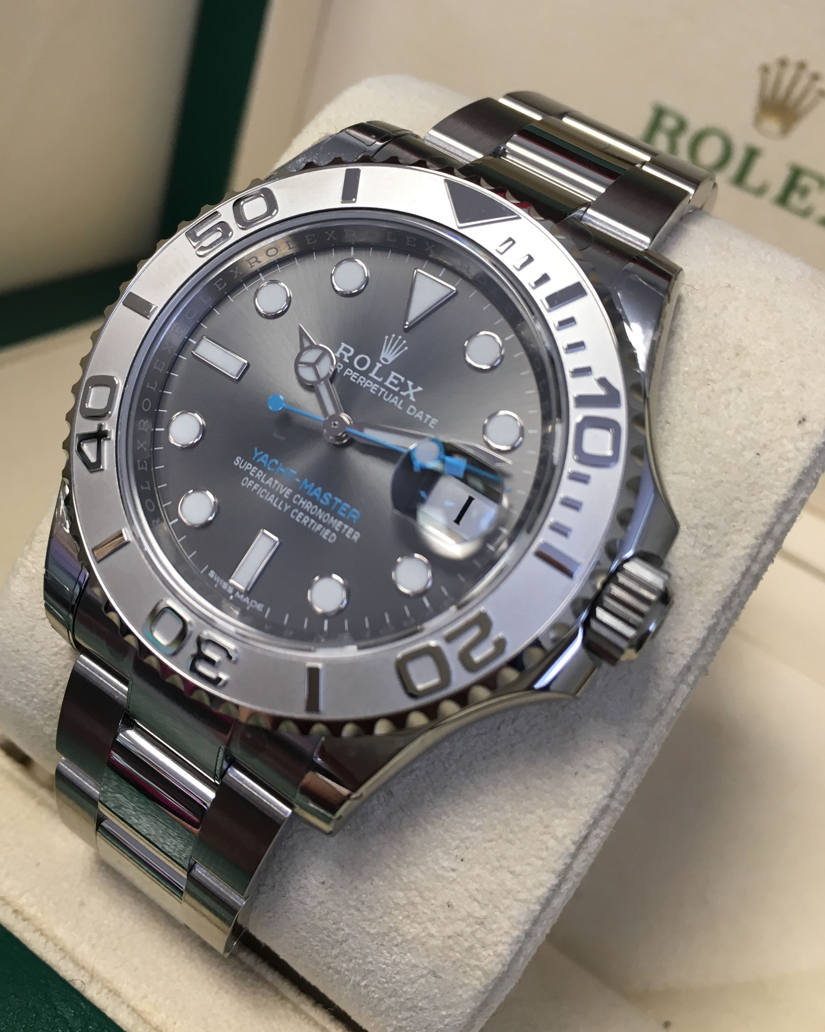Rolex Yacht Master Rhodium Dial 116622 Timing Is Everything