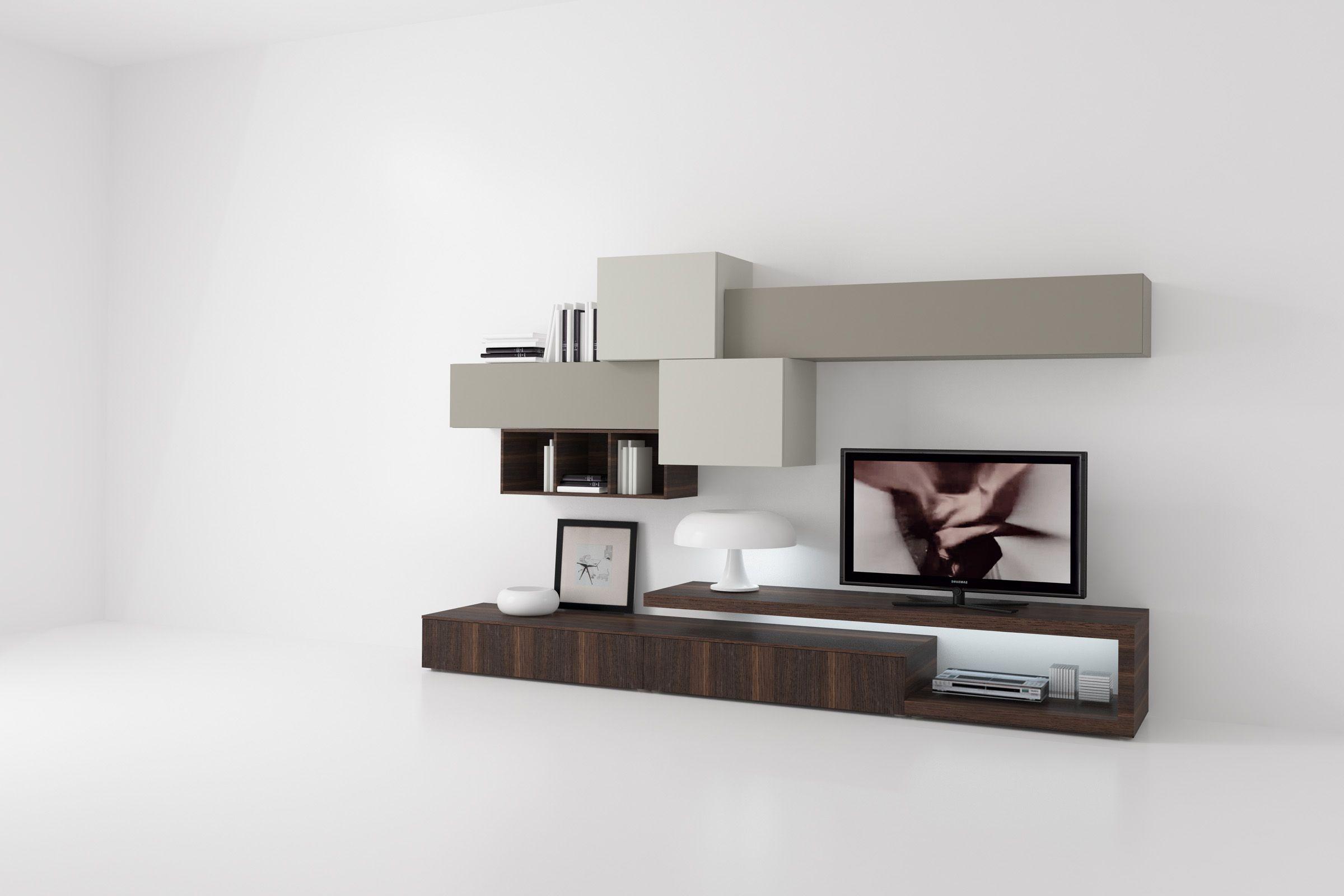 Best Soggiorni Componibili Moderni Ideas - House Design Ideas 2018 ...
