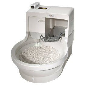 Cat Genie 120 Self-Flushing Cat Litter Box. When I can afford this, I will get a cat again.