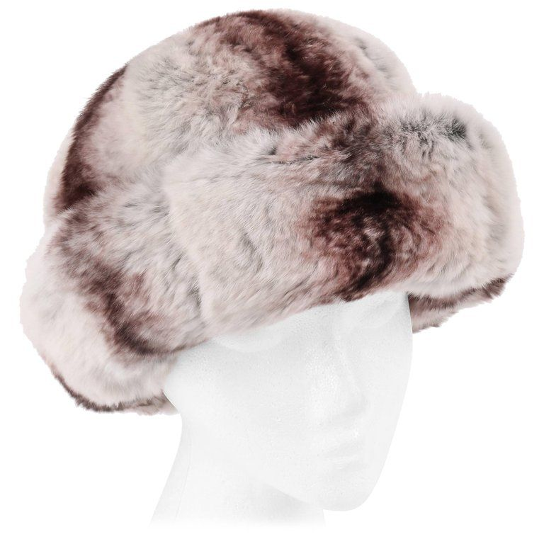 Bell shaped body with wide turned up brim. Heathered gray wool hat band with  bow at center back. Gray silk faille lining. Gray grosgrain ribbon along ... d062e351f6c6