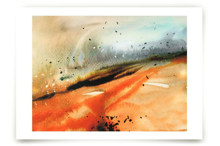 Landsplashes Series : Fields by V E R Y M A R T A at minted.com