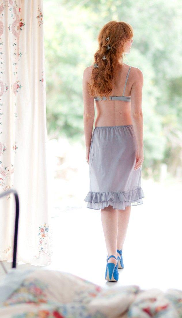 Pretty Half Slip Wear A Skirt Just A Bit Shorter Than