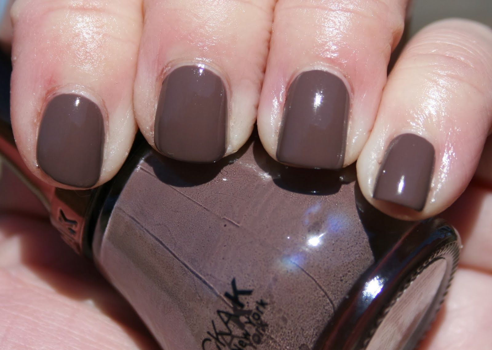 Nicka K New York in NY112 Classic Taupe | Nail Polish | Pinterest ...
