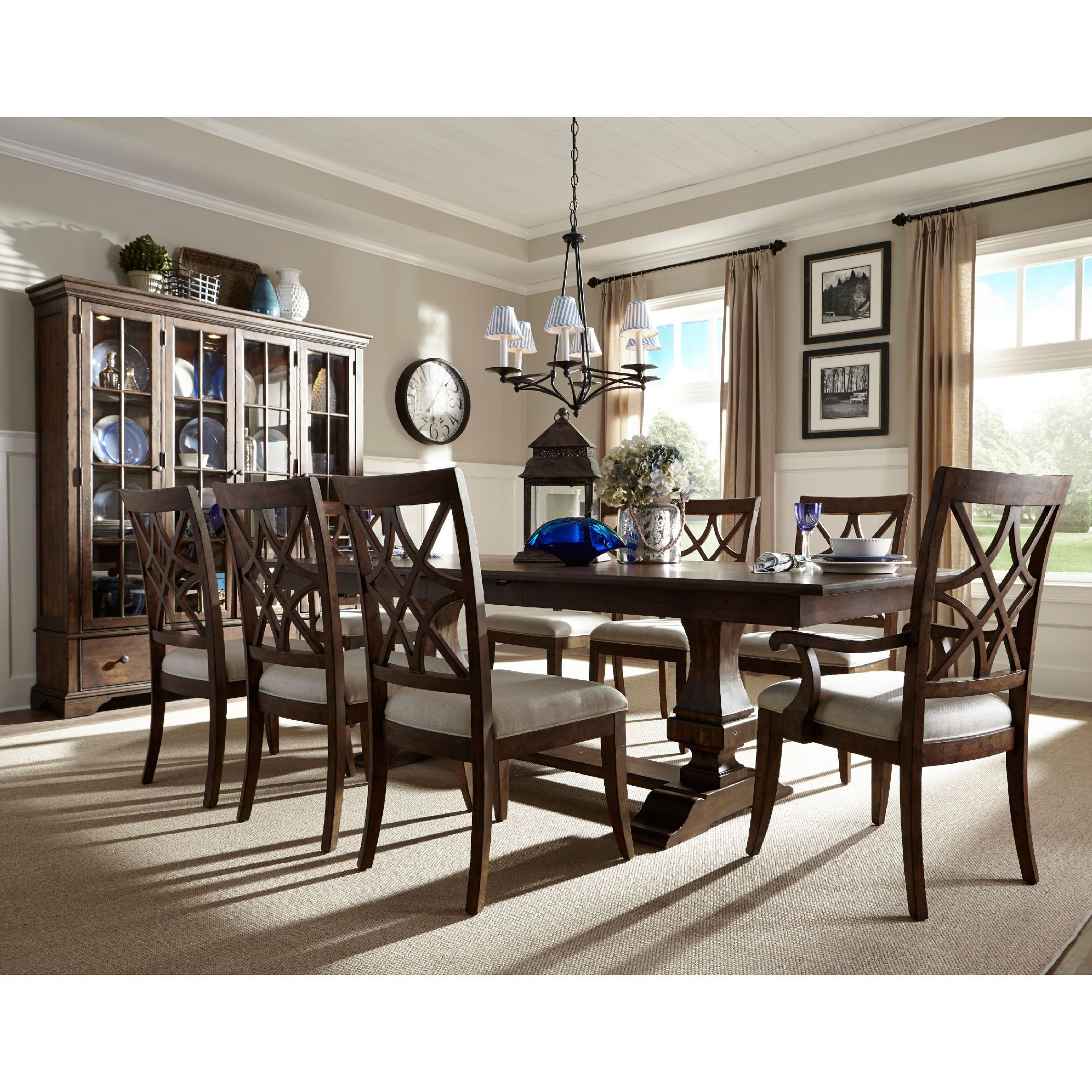 I Just Love The Trisha Yearwood Collection Especially This Dining Extraordinary Klaussner Dining Room Furniture Decorating Design