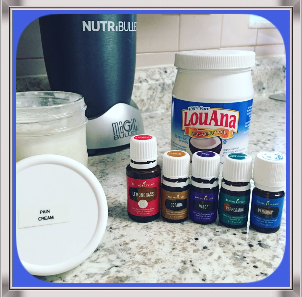 Amazing Pain Cream One Cup Coconut Oil 25 Drops Panaway
