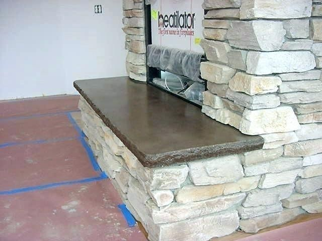 Fireplace Hearth Stone Slab Fireplaceoutdoorcampfires