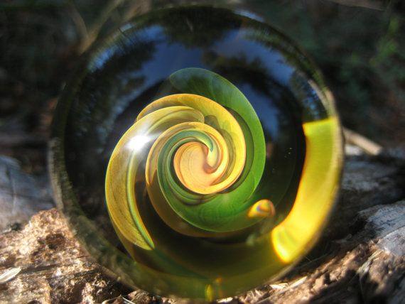 Golden Spiral Marble  [ #Marbles ]