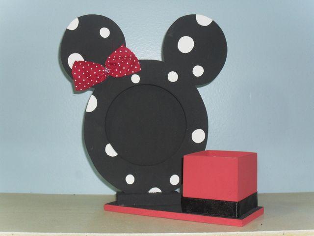 Portaretratos de minnie buscar con google - Manualidades minnie mouse ...