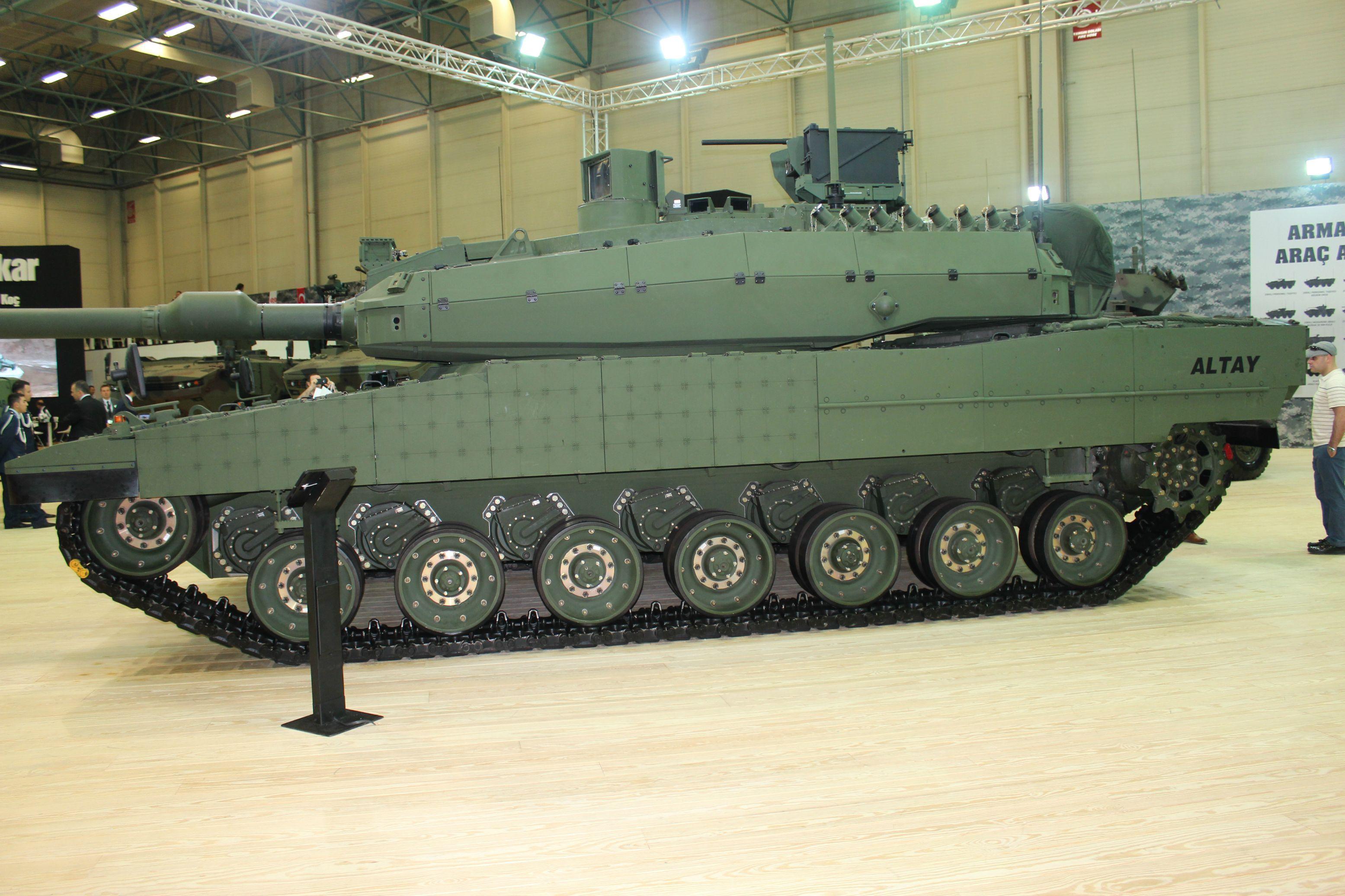 Altay Tank Turkiye Askeri Savas Ordu