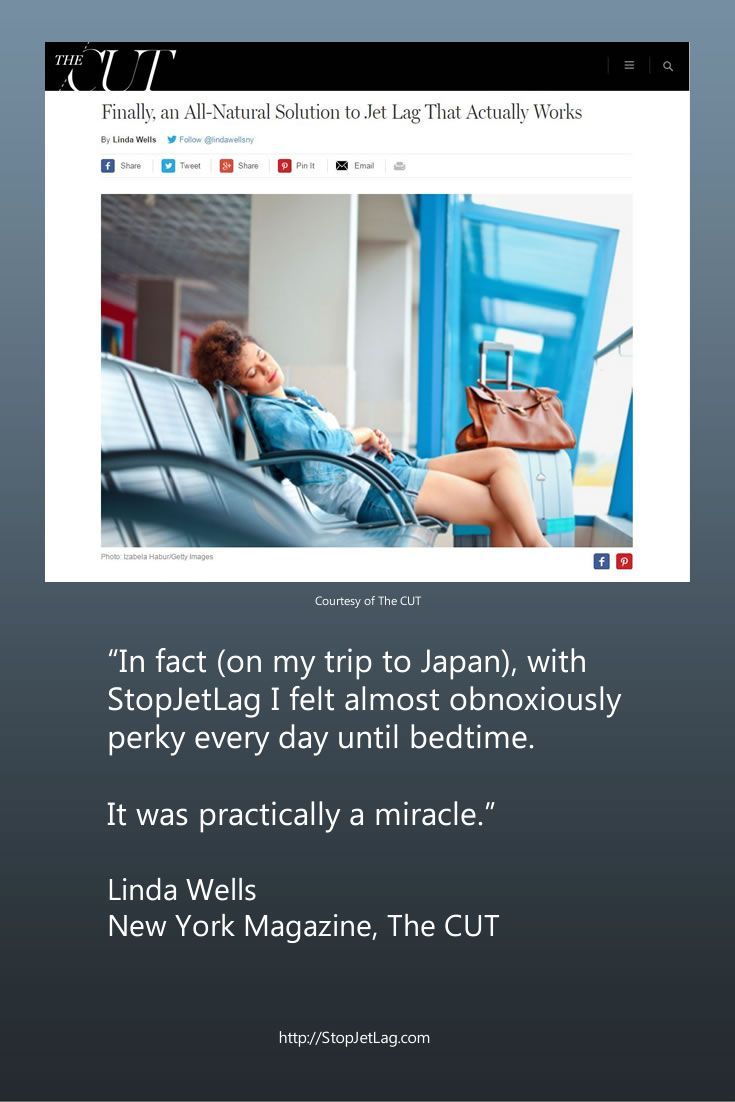 Finally, an All-Natural Solution to Jet Lag That Actually Works - StopJetLag.com