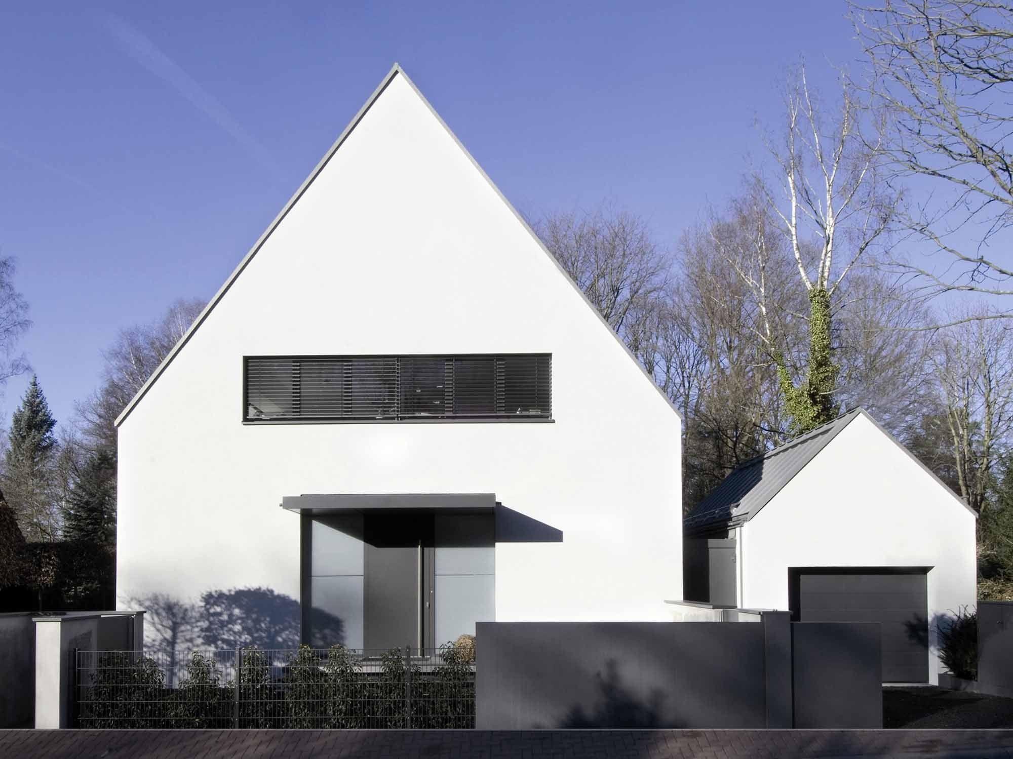 Architekten Bad Homburg einfache häuser mit satteldächern prä die siedlungsstruktur am