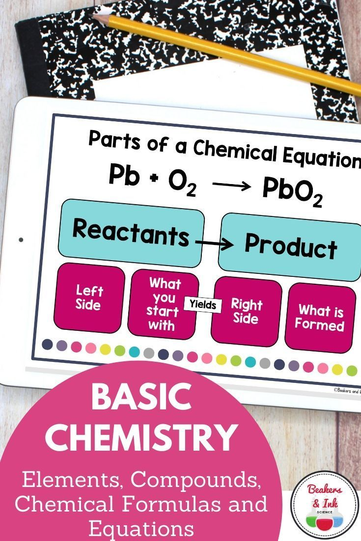Distance learning with elements, compounds, chemical