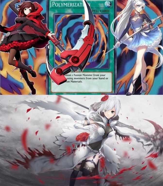 heart of the cards RWBY Rwby, Haunting photos, Anime