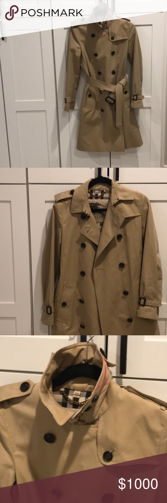 12c0f0ec6c5 Burberry - Kingston long trench coar Used but in very good condition. Size  6 (