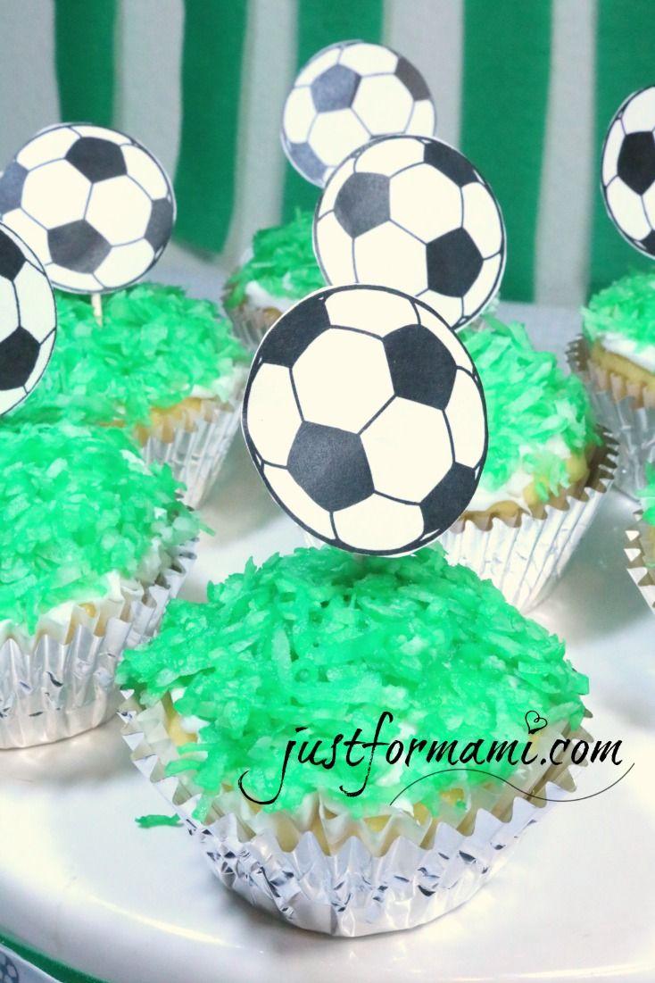 Ideas para fiesta de futbol soccer comida con tema de - Ideas decoracion fiestas ...