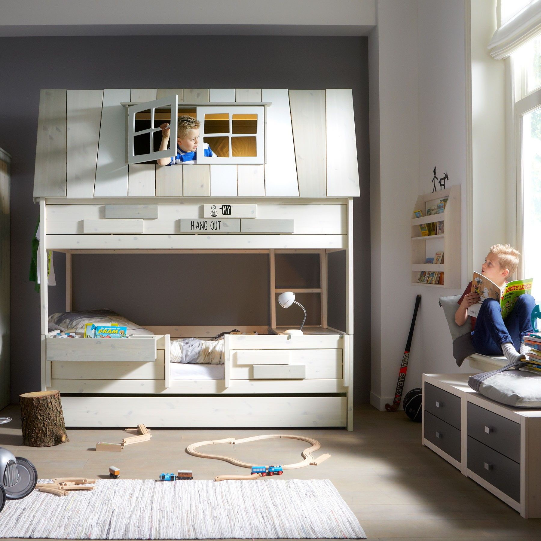 Hang Out Room Ideas Lifetime Kidsrooms My Hangout Childrens Bed Kinderzimmer