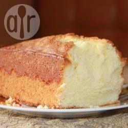 Бисквит на сметане для торта