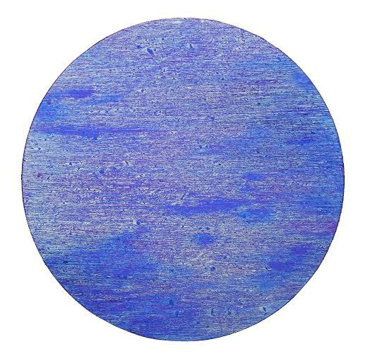 Untitled – Acrylic on round canvas diameter 50 cm