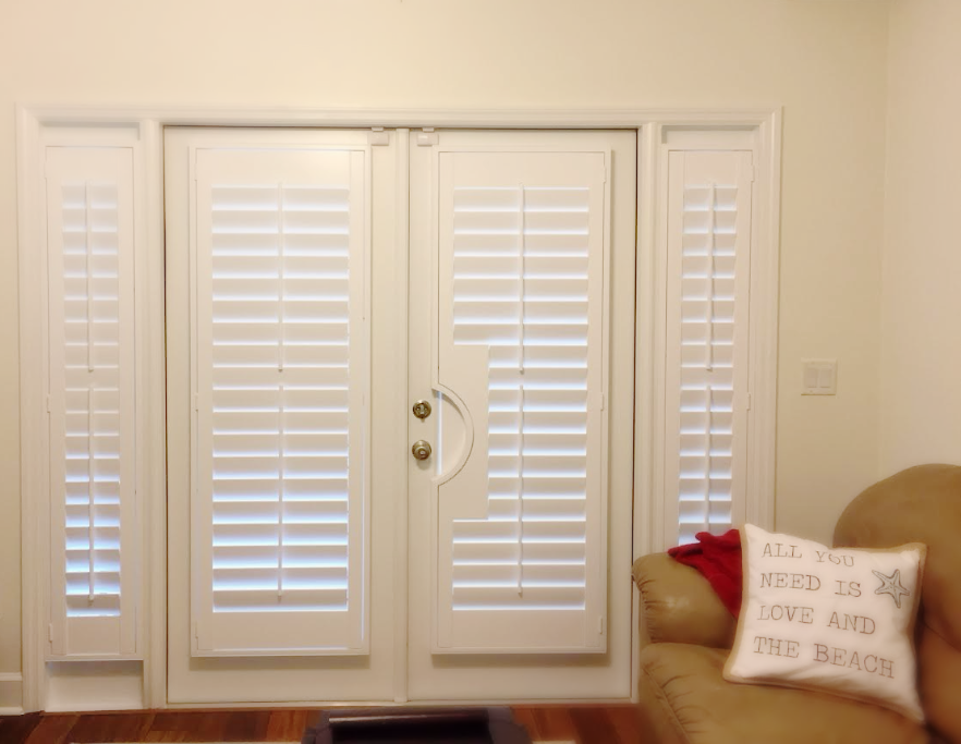 Shutters Like These French Door Shutters Add Distinctive Style To