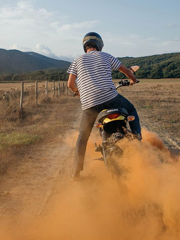 A sneaky glimpse of the upcoming #scramblerducati. We're looking forward to seeing this one — repin if you are too.