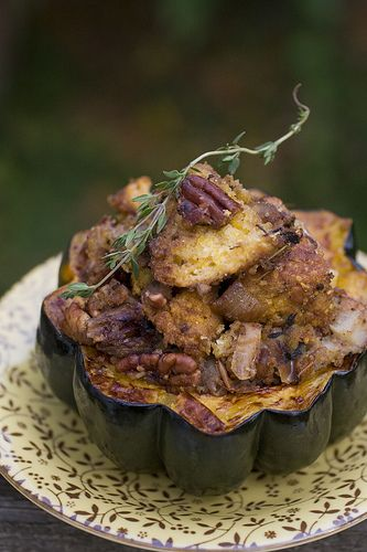 A Week Late Cornbread Stuffing With Pears And Pecans Post Punk Kitchen Vegan Baking Vegan Cooking Vegan Cooking Food Recipes Vegan Main Dishes