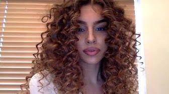 Tutorial Lee Stafford Chopstick Styler Bouncy Beautiful Natural Curls You