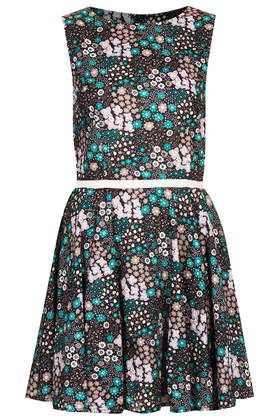 **Sleeveless Yolanda Tea Dress by Annie Greenabelle