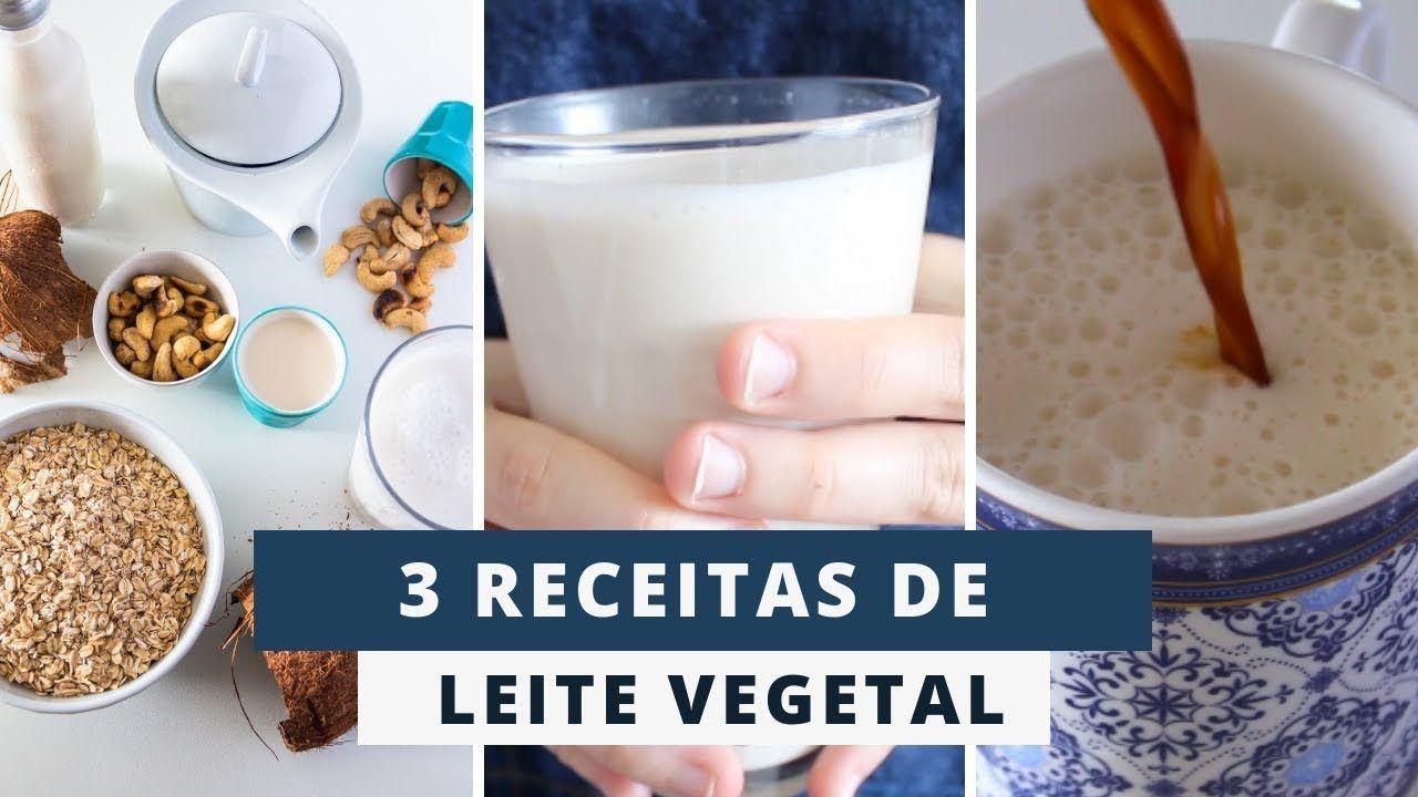 3 Leites Vegetais Praticos E Saudaveis Marina Morais Leite