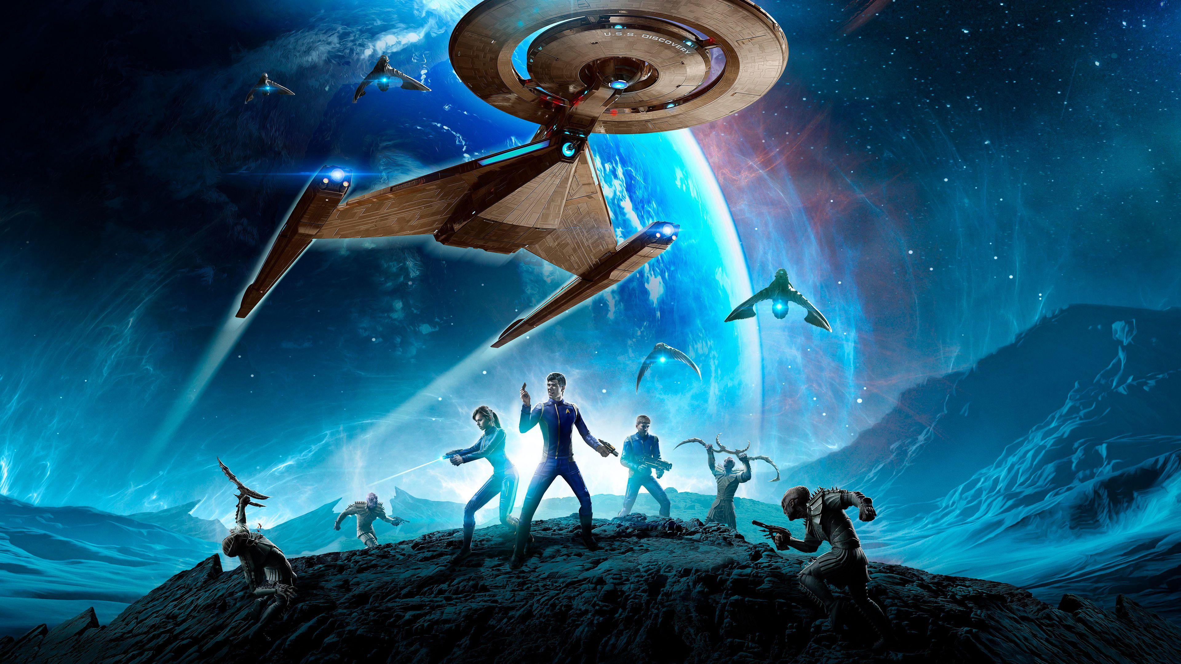 Wallpaper 4k Star Trek Online Video Game 4kwallpapers, 5k