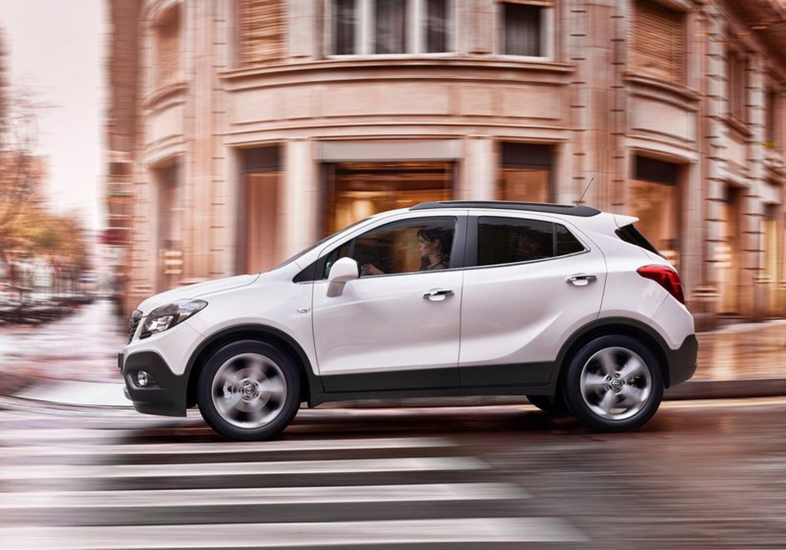 Opel mokka was mistook
