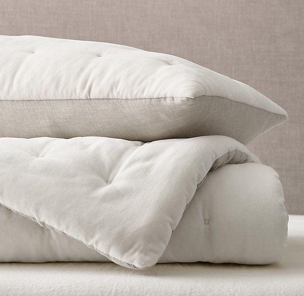 Velvet & Linen Tufted Quilt & Sham | Bas bed | Pinterest | Linens ... : velvet dreams quilt - Adamdwight.com