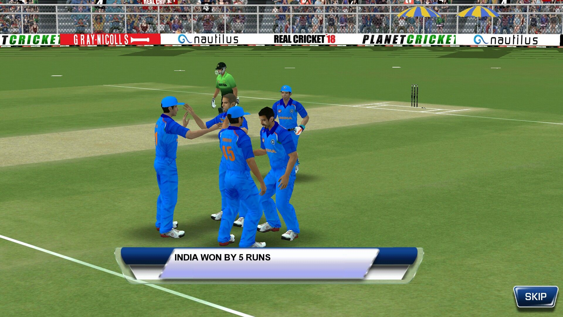 Real Cricket 18 offline cricket game for iPhone