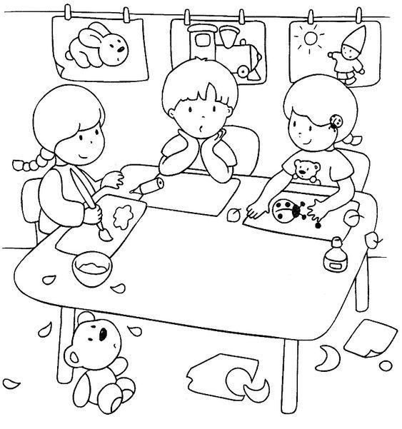 Sequenze Di Azioni Quotidiane Accoglienza Scuola Scuola Materna
