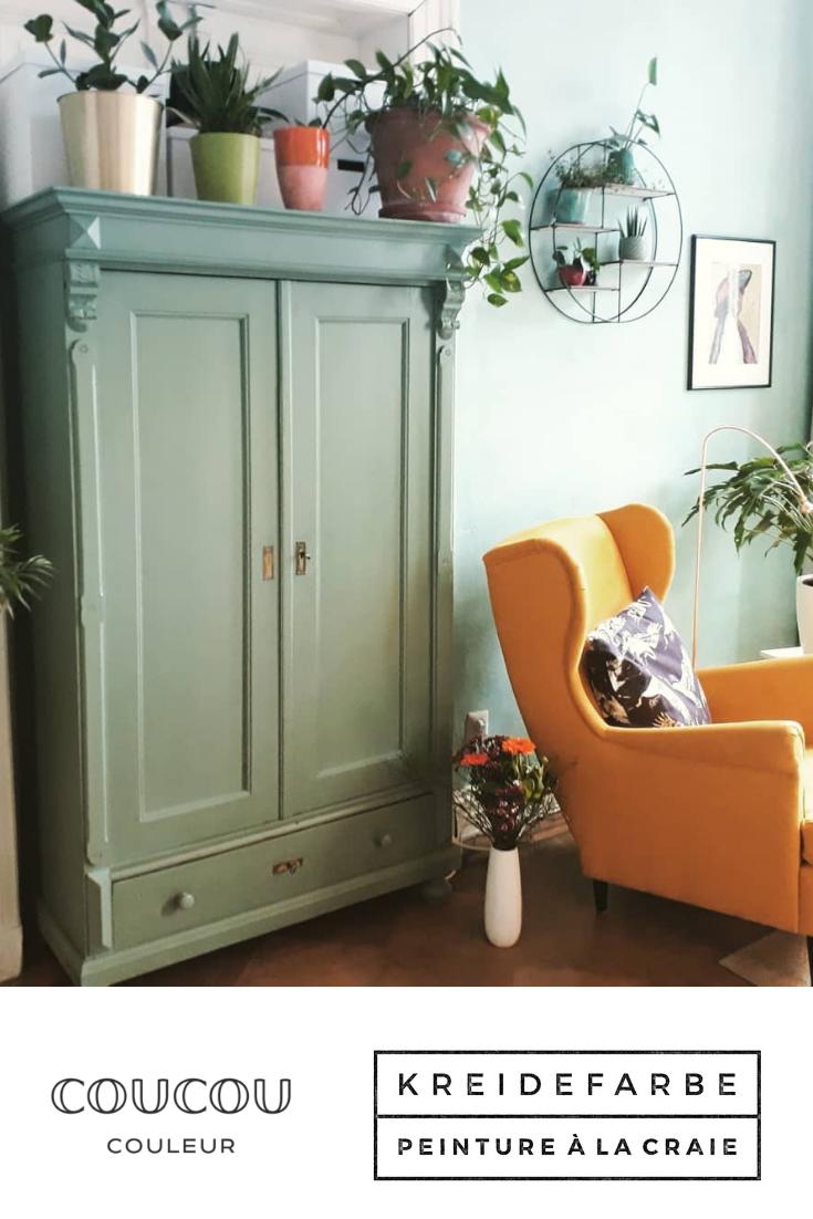 Schrank Okologisch Streichen Wohnzimmerschranke Haus Deko Kreide Farbe Schranke