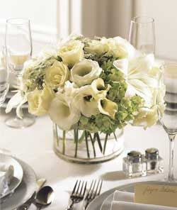 Order White Linen Centerpiece Flower Arrangement From Rickey Heroman S Florist Your Local Baton Rouge La Send Fl