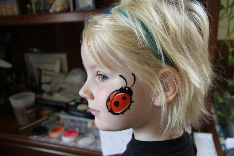 quick cheek art face painting google search kinderschminken pinterest kinder schminken. Black Bedroom Furniture Sets. Home Design Ideas
