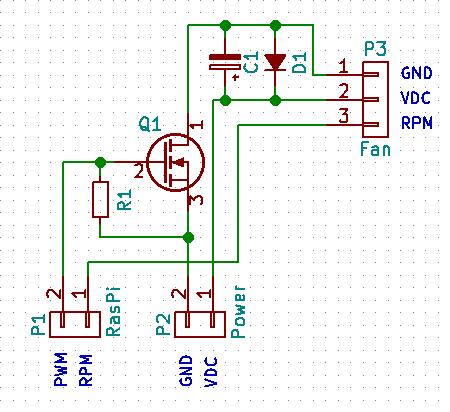A Simple Mosfet Pwm Fan Driver Circuit Diy Pinterest Circuits
