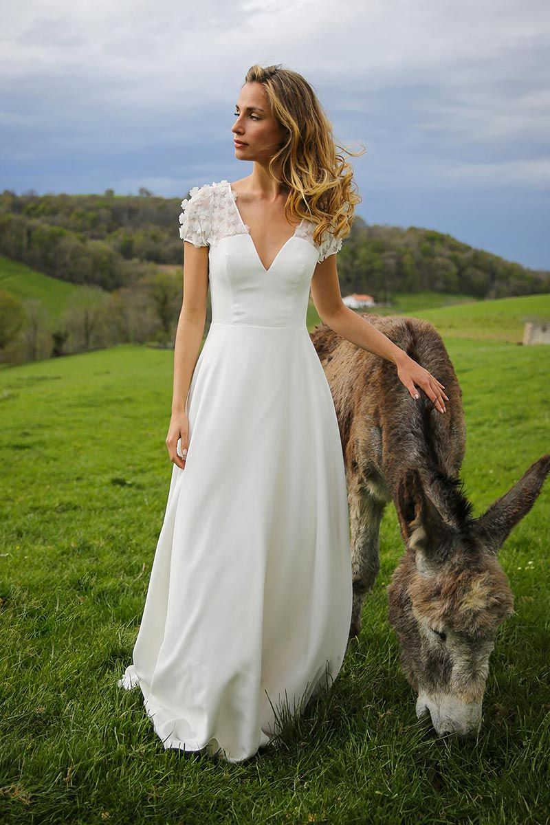 Robe ethnique chic mariage