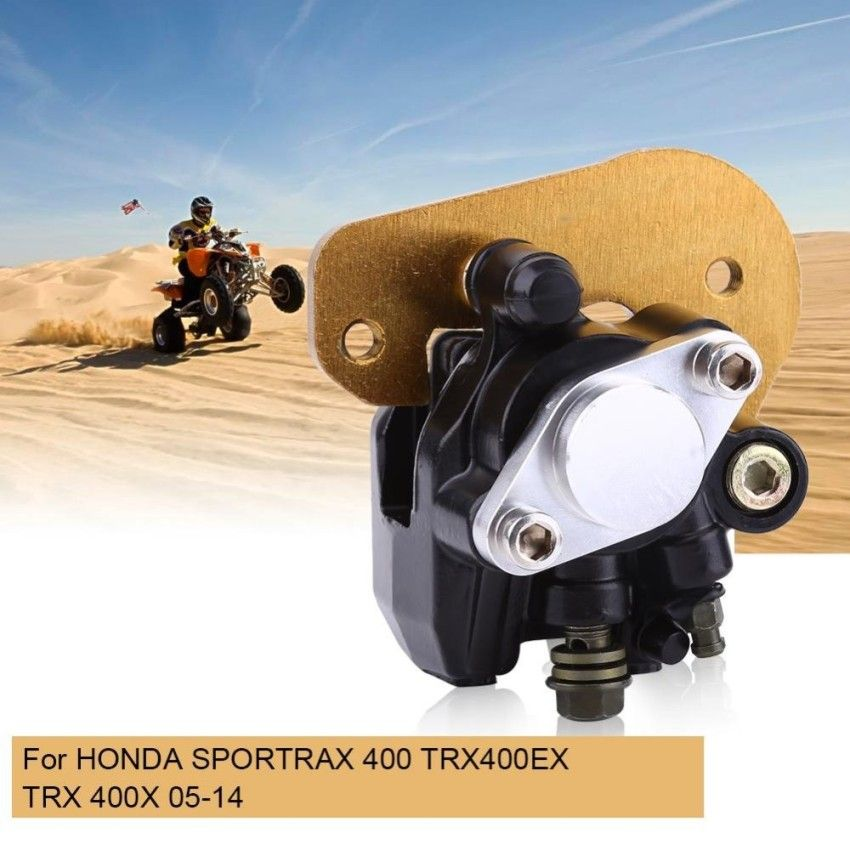 New Rear Brake Caliper For Honda Sportrax 400 TRX400EX TRX 400X 05-14 With Pads