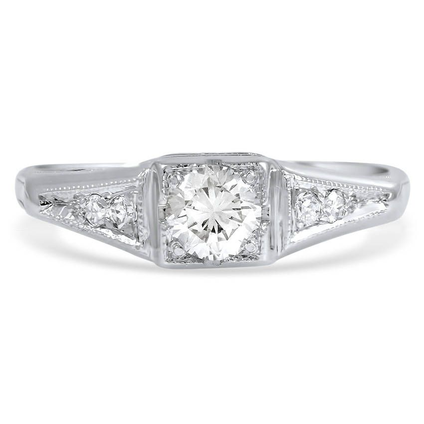 18K White Gold The Stefanie Ring from Brilliant Earth