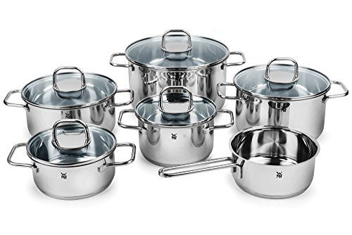 Wmf Inspiration 11piece Transtherm Stainless Steel Cookware Set You Can Get More Details By Cl Cookware Set Stainless Steel Cookware Set Specialty Cookware
