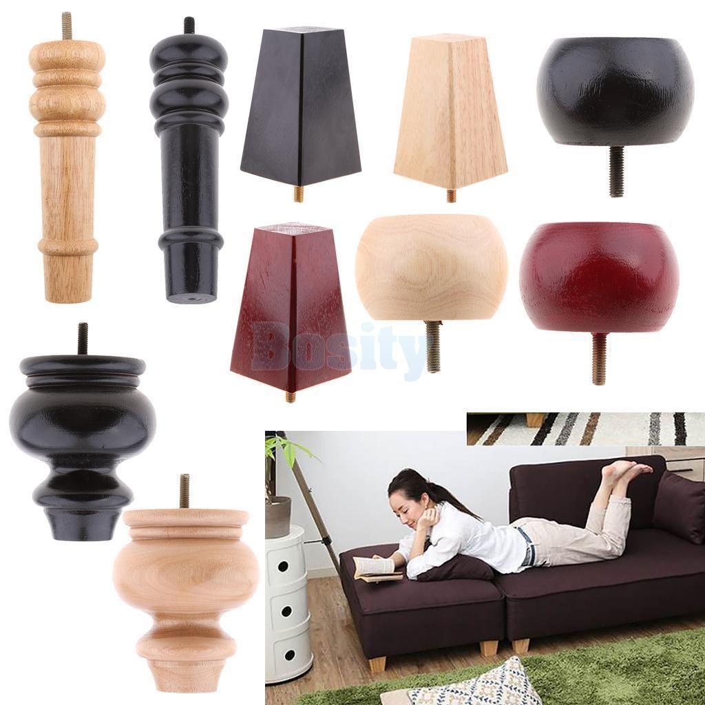 4 99 Universal Wooden Furniture Leg Sofa Couch Chair Feet Plinth Bed Risers X 1 Ebay Home Garden Wooden Furniture Legs Furniture Legs Sofa Legs